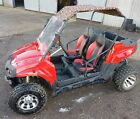 UTV 150 RED BUGGY 150CC GY6 FULLY AUTOMATIC F N R WITH TOW BAR AND FRONT WINCH