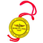 BREITLING AUTHENTIC 1884 YELLOW WATCH HANG TAG IN GREAT CONDITION