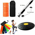 Fitness Kit Resistance Exercise ABS Trainer Mini Gym Massage Roller Pull up Bar