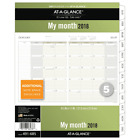 At A Glance 491 685 18 Day Runner Monthly Planner Refill January 2018 Decembe