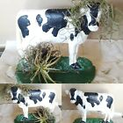 Vintage Cast Iron Cow Doorstop Door Stop thillandsia Farmhouse Garden ART