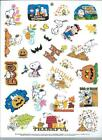 STICKERS Peanuts Snoopy Lucy Halloween Autumn Trick or Treat Pumpkin