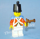 Lego PIRATE minifig RED IMPERIAL GUARD 1729 1872 6277 MiniFig MiniFigure