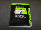 2008 Toyota Camry Solara Service Repair Manual SE SLE Sport 2.4L 3.3L VOL 3 ONLY
