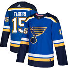 #15 Robby Fabbri Jersey St. Louis Blues Home Adidas Authentic