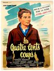 Francois Truffaut 400 BLOWS Original French poster for the 1959 film 139477