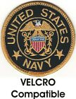 Seal of the United States Navy Patch VELCRO BRAND Hook Fastener Compatible