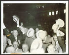 Delegates cheer nominee Hoover at Chicago photo 1932
