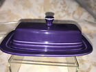 Fiesta BUTTER DISH -Original Size -Discontinued Item & Color-First quality- PLUM