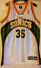 NEW Authentic Kevin Durant Sonics Retro Rookie Jersey 44 L Warriors Thunder 2007