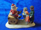 Vintage Lemax Village Collection  Porcelain Visiting Santa Claus 23042