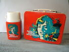 Vintage 1977 Nancy Drew Mysteries Metal Lunch Box with Thermos