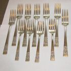 Community Coronation 7 Dinner 4 Salad Forks Silverplate Flatware VTG LOT