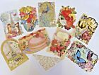 Punch Studio Assorted Blank Note Cards Set of 18 Boxed Gold Foil Accents New FS