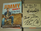 Multi Signed JIMMY DOHERTY On The Farm HB 1st VGC Jamie Oliver