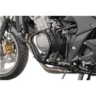 SW MOTECH   UPPER ENGINE GUARD SET - BLACK - HONDA CBF600 S + N 2008-13