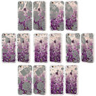 HEAD CASE DESIGNS HOLIDAY PURPLE GLITTER CASE FOR APPLE iPHONE SAMSUNG PHONES