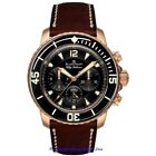 NEW Blancpain Fifty Fathoms Flyback Chronograph 18k Rose Gold gent's 45mm watch.