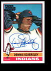 2018 TOPPS ROOKIE HISTORY DENNIS ECKERSLEY INDIANS AUTO #ED 9 99