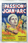 Carl Theodor Dreyer PASSION OF JOAN OF ARC Original US poster for the 140062