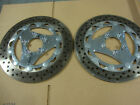 BIG DOG MOTORCYCLES BREMBO BRAKE ROTOR PAIR 05 RIDGEBACK 06 K-9 CHROME FLOATING