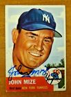 Johnny Mize Cards, Rookie Card and Autographed Memorabilia Guide 42