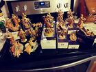 Fontanini 5 Scale Signed Simonetti Depose Italy Nativity Figures Large Lot