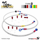 Kit brake hoses 2 Frentubo MALAGUTI F18 WARRIOR 150 2000/2001