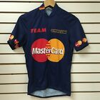 Vintage Master Card Pearl Izumi Cycling Jersey Size Small