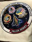 Their Memory Lives On Their Spirit Will Carry Us Higher 12 Memorial NASA Patch