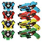 Set of 4 Infrared Laser Tag Blasters with Vests Multiplayer Mode
