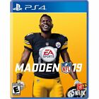 PS4 Madden NFL 19 Brand New Factory Sealed Playstation 4