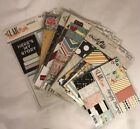 Lot of 7 SIMPLE STORIES I Am Charmed Life Cozy Christmas Scrapbook Snp Pages
