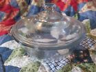 's Fire King Philbe Sapphire Blue Design Casserole Dish