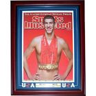 Michael Phelps Olympic Signed Gold Medals Sports Illustrated 16x20 Framed Photo
