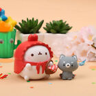Molang Fairy Tale Mini Figure Doll Set Little Red Riding Hood Collectible Toy