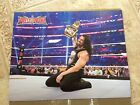 WWE Wrestlemania 32 Undertaker Vs Shane McMahon Roman Reigns Sided Poster 11x14