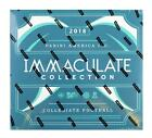 2018 PANINI IMMACULATE COLLECTION COLLEGIATE FOOTBALL HOBBY BOX
