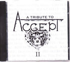 A TRIBUTE TO ACCEPT VOL 2 CD UDO, TAD MOROSE, THERION, CUSTARD, DARKANE, VANIZE
