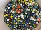 A Mixed Lot of 250 New Glass Marbles- 4 Pounds