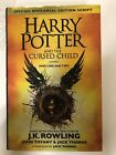 Harry Potter and the Cursed Child hand signed by JK Rowling
