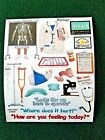 NRN Designs Stickers Doctor X Ray Crutches Cast IV Scrapbooking Cardmaking