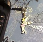 Tinkerbell Rhinestone Clip Cell Phone Charm Dust Plug Cover All Phones