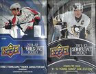 2011-12 Upper Deck Hockey 2- Box Factory Sealed Hobby Box Lot (Series 1 + 2) ORR