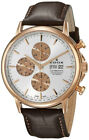 Edox Les Bemonts Chronograph Automatic Stainless Steel Men's Watch 01120-37R-AIR
