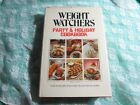 Vintage 1980 HC 1st Print Weight Watchers Party  Holiday Cookbook