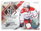 2015 16 UPPER DECK SP GAME USED HOCKEY HOBBY BOX