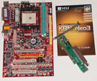MSI K8N Neo3 motherboard AGP 8x + PCI Express plus AGP to PCI adapter S754 7135
