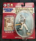 1996 STARTING LINEUP HANK AARON COOPERSTOWN COLLECTION FIGURE SEALED BRAVES