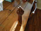 Hand Carved Wood HAND AND ARM BEAUTIFUL HARDWOOD 12